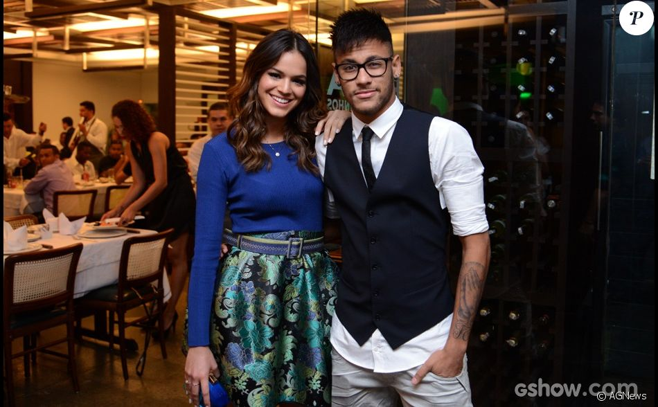Bruna Marquezine dated Neymar Jr. in 2013 and are back together in 2017