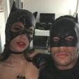 Bruna Marquezine se reaproximou em julho do ano passado e voltaram a aparecer juntos em dezembro, quando foram fantasiados de Batman e Mulher-Gato à festa de aniversário de Gabriel Medina
