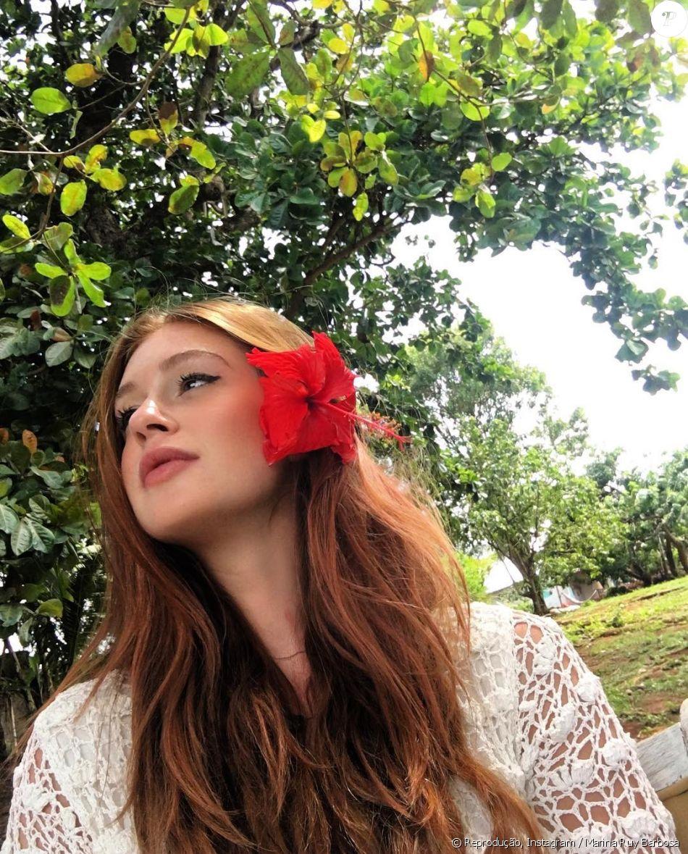 Marina Ruy Barbosa foi fotografada pelo noivo, Xandinho Negrão, nesta terça-feira, 3 de janeiro de 2016