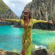Marina Ruy Barbosa reaproveitou looks de praia em viagem a Fernando Noronha