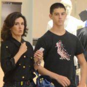 Vinícius, filho de Fátima Bernardes e William Bonner, sofre acidente de carro