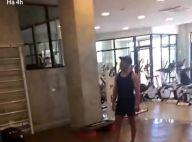 Zezé Di Camargo canta para namorada, Graciele Lacerda, na academia. Vídeo!