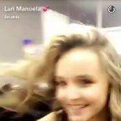 Larissa Manoela corta o cabelo para filme 'Meus 15 anos': 'Cara nova'. Vídeo!