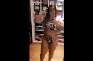 Preta Gil explica em vídeo uso do biquíni em casa o dia inteiro: 'Está calor!'