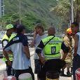 Pedro Novaes, filho de Leticia Spiller e Marcello Novaes, recebeu ligação do pai após acidente com carro