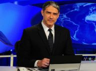 William Bonner adia volta ao 'Jornal Nacional' após acidente do filho: 'Segunda'