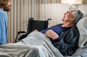 'A Lei do Amor': Fausto faz discurso de despedida e vê Suzana antes de morrer