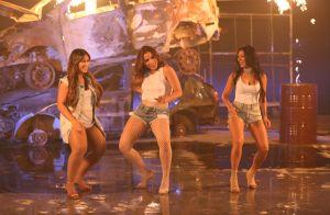 Simone e Simaria sensualizam de camiseta molhada em clipe com Anitta. Vídeo!