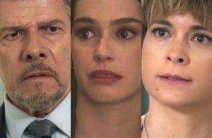 Capítulo desta 5ª de 'A Lei do Amor': Tião é hostil com Flávia e Helô a defende