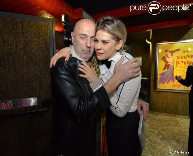 Bárbara Paz e Hector Babenco estão separados, segundo o jornal 'O Globo' desta sexta-feira (24 de janeiro de 2014)
