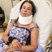 Zilu Camargo é transferida de hospital após acidente: 'Exames complementares'