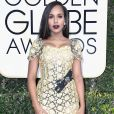 Kerry Washington foi de Dolce & Gabbana ao '74° Globo de Ouro', em Los Angeles, Estados Unidos
