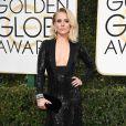 Kristen Bell de Jenny Packhamno Globo de Ouro 2017, em Los Angeles, nos Estados Unidos, na noite deste domingo, 8 de janeiro de 2017