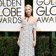 Michelle Willians de Louis Vuittonno Globo de Ouro 2017, em Los Angeles, nos Estados Unidos, na noite deste domingo, 8 de janeiro de 2017
