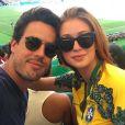 Marina Ruy Barbosa e Xandinho Negrão marcaram presença nas Olímpiadas Rio 2016, no dia 17 de agosto de 2016