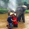 Marina Ruy Barbosa e Xandinho Negrão na Tailândia no dia 13 de julho de 2016