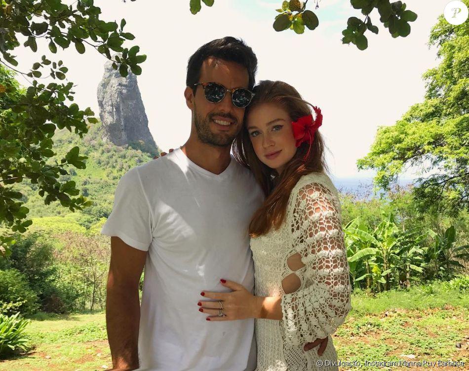 Marina Ruy Barbosa comemora um ano de namoro com Xandinho Negrão nesta segunda-feira, 9 de janeiro de 2017: 'De janeiro a janeiro. 365 dias'
