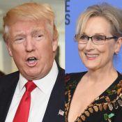 Trump critica Meryl Streep após discurso no Globo de Ouro: 'Amante de Hillary'