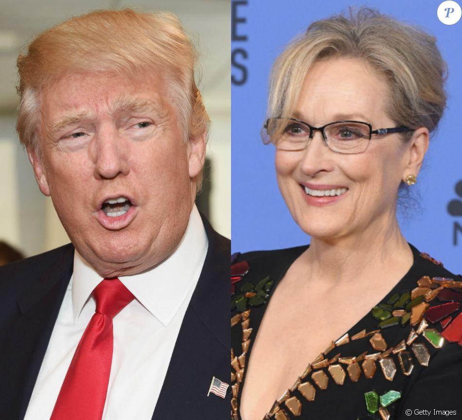 Donald Trump criticou Meryl Streep após o discurso da atriz no Globo de Ouro, neste domingo, 8 de janeiro de 2017