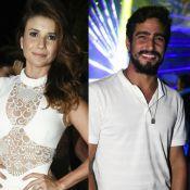Paula Fernandes se encantou por Renato Góes durante o réveillon em Noronha