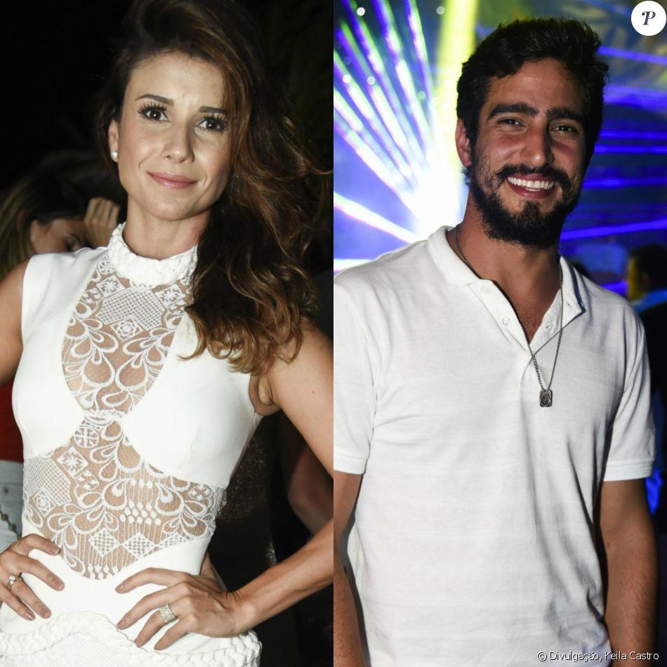 Paula Fernandes investiu em Renato Góes durante o réveillon em Fernando de Noronha, diz o colunista Leo Dias, do jornal 'O Dia', nesta terça-feira, 10 de janeiro de 2017