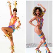 Globeleza aprova vinheta de Carnaval e pondera:'Nunca fiquei desconfortável nua'
