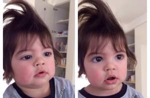 Shakira brinca de cabeleireira e posta foto de Milan com topete