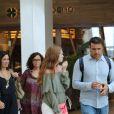 Marina Ruy Barbosa exibe boa forma em passeio no shopping Village Mall
