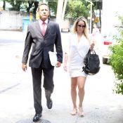 Danielle Winits presta queixa contra Leo Dias em delegacia: 'Denegrindo imagem'
