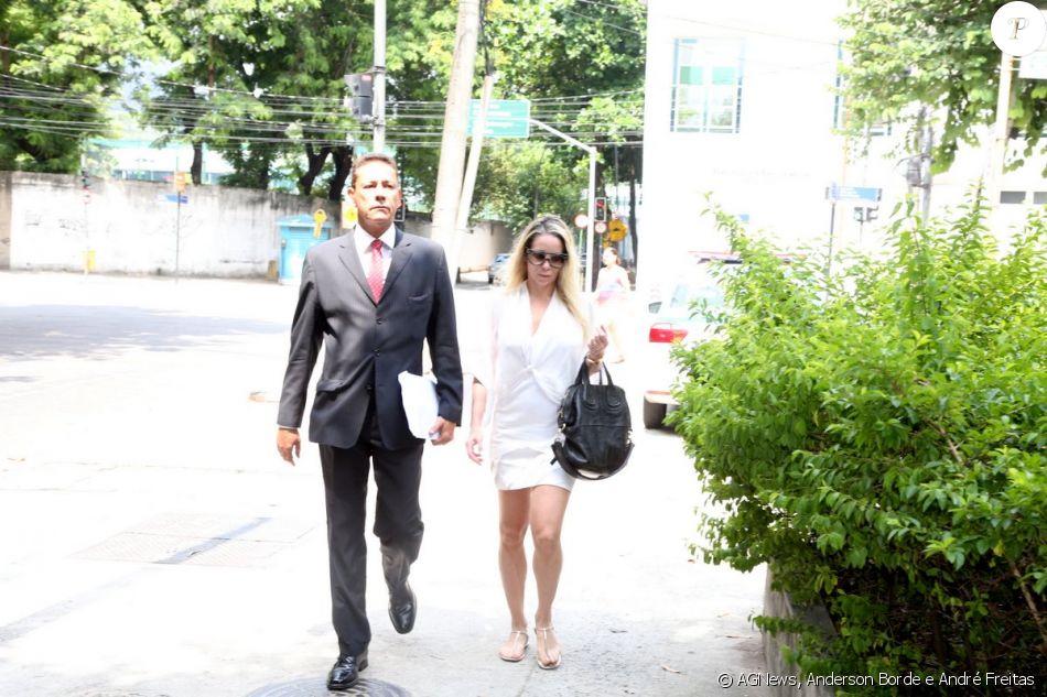 Danielle Winits formalizou uma queixa contra o jornalista Leo Dias nesta quarta-feira, 11 de janeiro de 2017