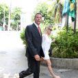 Danielle trocou farpas com o jornalista Leo Dias na madrugada de sexta-feira, 6 de janeiro de 2017