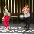 Gabi participa do 'Dancinha' com o dançarino Lucca Azeredo