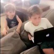 Claudia Leitte vibra com filhos assistindo clipe 'Taquitá': 'Espertos'. Vídeo!