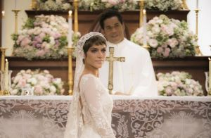 Isabella Santoni usa vestido de noiva de 50 mil em  A Lei do Amor . Veja  fotos! 9fdb3e09fb