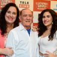 Lívian Aragão exaltou a boa relação com os pais: 'Nunca discutimos'