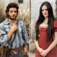 Martinho (Chay Suede) e Anna Millman (Isabelle Drummond) são o casal protagonista da novela 'Novo Mundo'