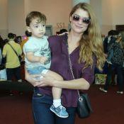 Filho de Alinne Moraes fica doente e atriz não vai a pré-estreia de filme