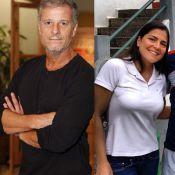Marcello Novaes termina namoro de 6 meses com a jornalista Samyra Ponce de Leon