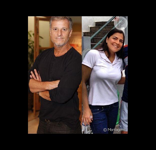 Marcello Novaes terminou seu namoro de 4 meses com a jornalista esportiva Samyra Ponce de Leon