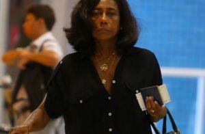 Gloria Maria é chamada de deselegante na web e rebate: 'Falta de educação'