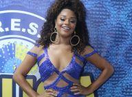 Carnaval: Juliana Alves arrasa na transparência em noite de samba. Veja fotos!