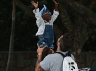 Títi dá show de fofura em foto e fãs de Bruno Gagliasso elogiam: 'Maravilhosa'