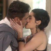 Novela 'A Lei do Amor': Yara chora ao ver beijo do marido, Misael, em Flávia