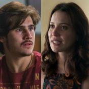 Novela 'Rock Story': Júlia conta toda a verdade a Zac sobre ela e Alex
