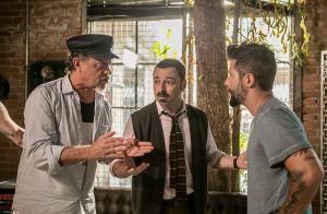 Novela 'Sol Nascente': Mario desmascara Cesar para Ralf, Patrick e Damasceno