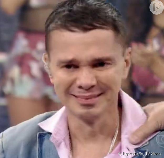 Netinho participa do 'Domingão do Faustão' e fala sobre a doença que o deixou internado por quatro meses