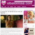 O Elbalonrosa.com descreve toda a cena protagonizada por Bruna Marquezine