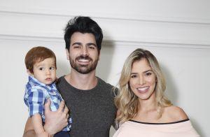 Adriana Sant'Anna e Rodrigão mostram vídeo da festa luxuosa do filho: 'Sonho'