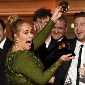 Adele quebra troféu para dividir com Beyoncé e erra nota de música no Grammy