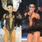 Claudia Leitte x Sabrina Sato: quem vestiu melhor o body de Cisne Negro?